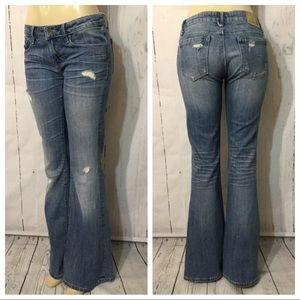 Cult of Individuality Leisure Flare Distressed 29